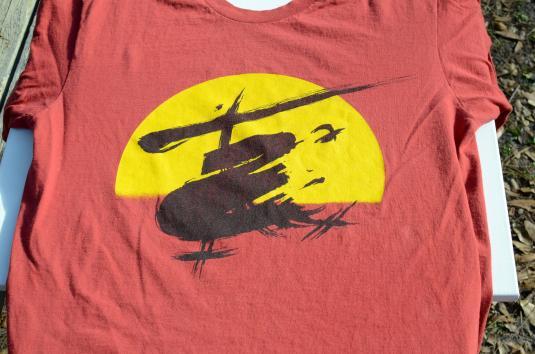 Vintage 1987 Miss Saigon Broadway Red T-Shirt XL