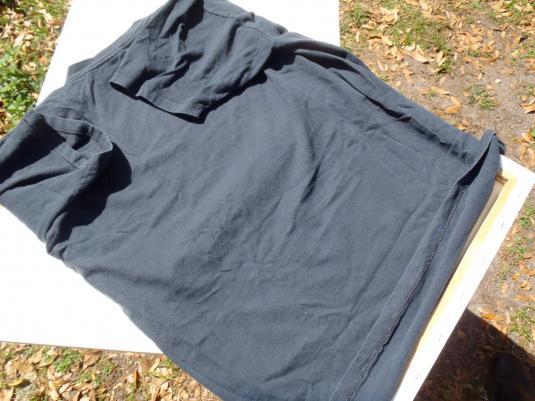 Vintage 1980s Barbara Mandrell Black Cotton T-Shirt XL
