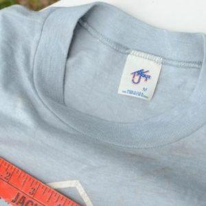 Vintage 1980s Loverboy Concert Tour Gray T Shirt S/M