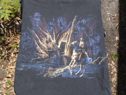 Vintage 1990s Ghosts of the West T Shirt L