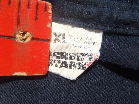 Vintage 1980s 30 Twilight Years Zone Hallmark Black T-Shirt L/XL