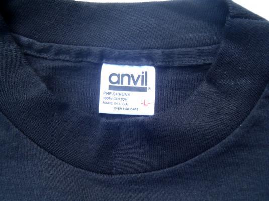 Vintage 1990s Michele LaFong Ventriloquist Black T-Shirt L