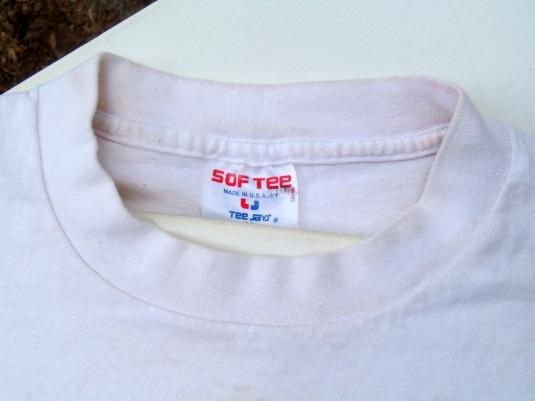Vintage 1990 White Detroit Pistons NBA Champs T Shirt M
