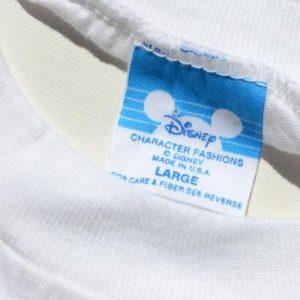 Vintage 1987 Disney MGM Studios Souvenir White T Shirt XL