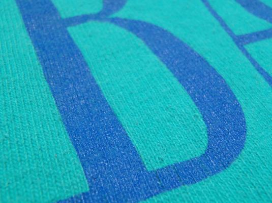 Vintage 1980s University of Albany Aqua T-Shirt L