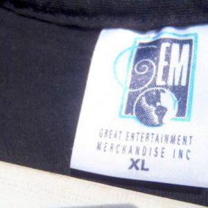 Vintage 1990s The Rembrants Concert Rocker Black T-Shirt XL