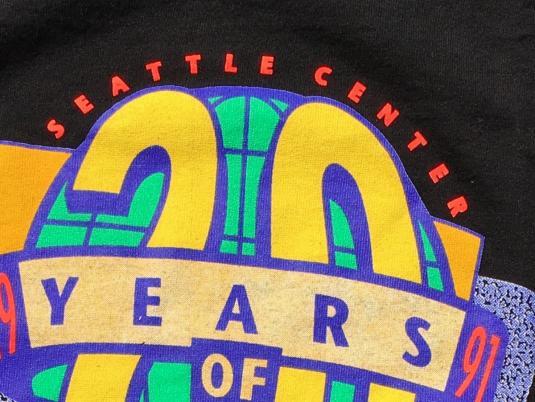 Vintage 1990s Northwest FolkLife Festival Seattle T-Shirt XL