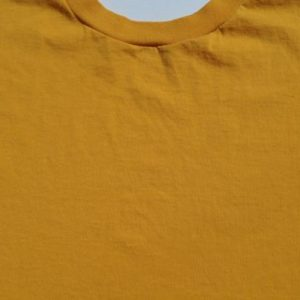 Vintage 1990s Blank Gold T-Shirt by Jerzees L