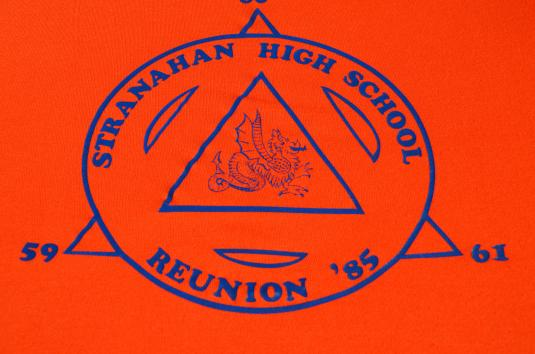 Vintage 1985 Stranahan High School Reunion T-Shirt S