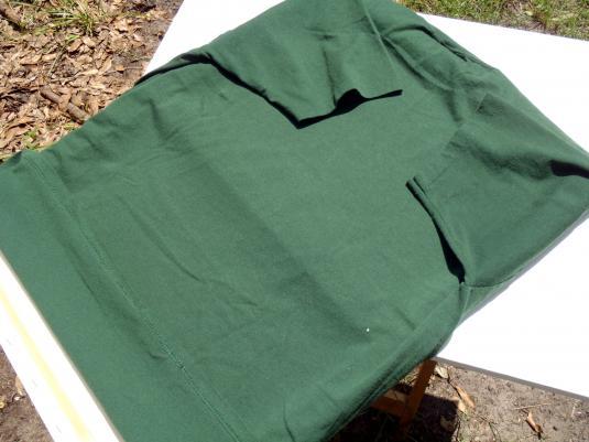 Vintage 1990s Santa Claus Christmas Green T Shirt XL