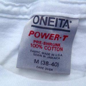 Vintage 1980s Sony AutoSound DAT White Cotton T-Shirt S/M