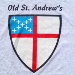 Vintage 1990s Old St. Andrews Heather Gray T-Shirt XL