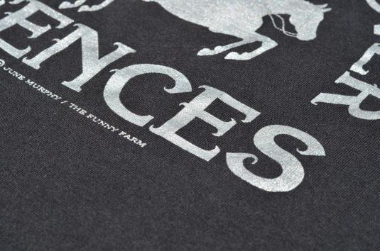 Vintage 1995 Fossils Over Fences June Murphy T Shirt L