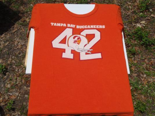 Vintage 1970s/80s Tampa Bay Buccaneers Jersey T-Shirt M
