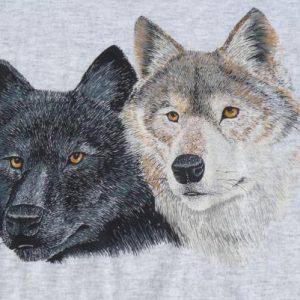 Vintage 1980s/90s Wolves T-Shirt XL