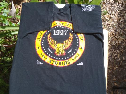 1997 Sturgis Motorcycle Rally T-Shirt L