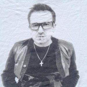 Vintage 1990s U2 Pop Mart White Concert Tour T-Shirt XL