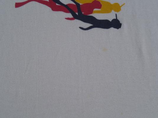Vintage 1980s Norwegian Cruise Lines Ringer T-Shirt L/XL