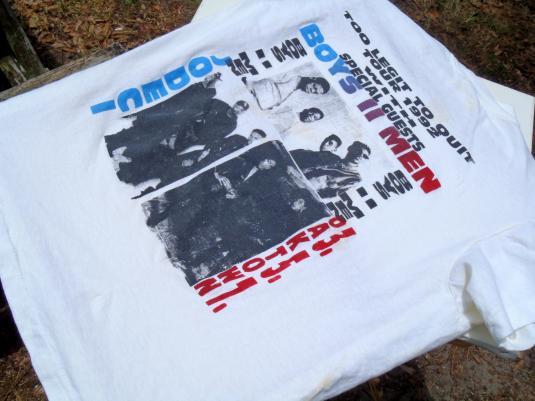 Vintage 1992 MC Hammer Too Legit 2 Quit Tour Cotton T-Shirt