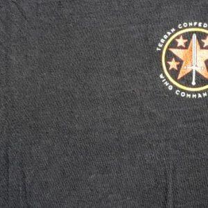 Vintage 1994 Wing Commander 3 Black Cotton T Shirt XL