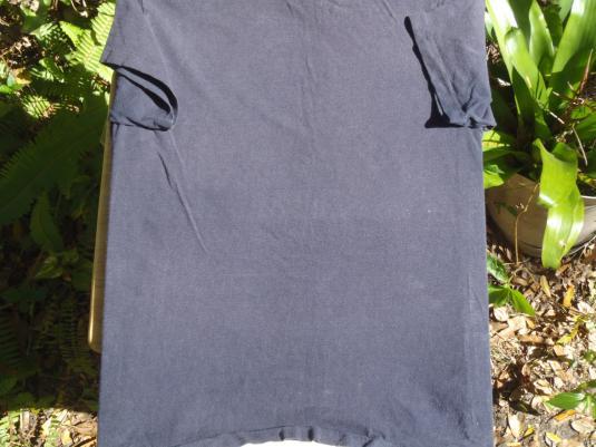 Vintage 1980s Navy Mantrap Hair Salon T-Shirt M