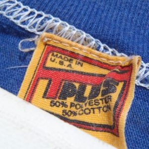 Vintage 1970s Blue Cowboys Football Jersey T-Shirt XS
