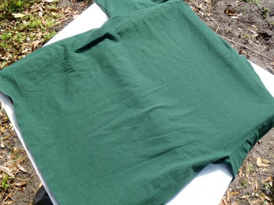 Vintage 1990s William Shakespeare Green Cotton T Shirt L