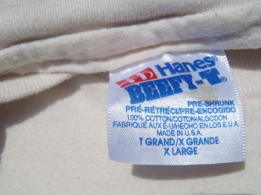 Vintage 1993 Ocoee River Georgia Ecru T-Shirt XL