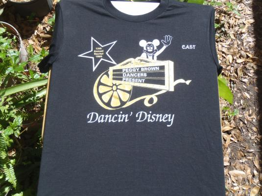 Vintage 1995 Peggy Brown Dance Troupe Disney WTF T Shirt S