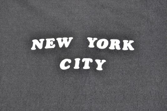 1970s New York City Puffy Letter Souvenir Vintage T-Shirt
