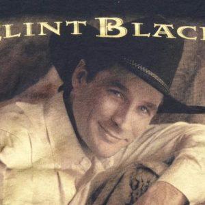 Vintage 1994 Clint Black Concert Tour Black T-Shirt M