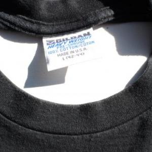 Vintage 1994 NYPD Blue Badge Black Cotton T Shirt XL
