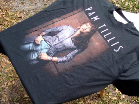 Vintage 1990s Pam Tillis Black T Shirt XL