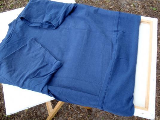 Vintage 1990s Navy Blue Rhody Run Washington Race T Shirt L