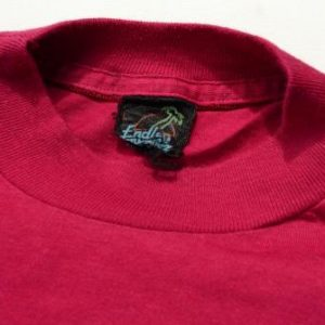 Vintage 1980s Ohio The Heart of It All Fuchsia T-Shirt M/L