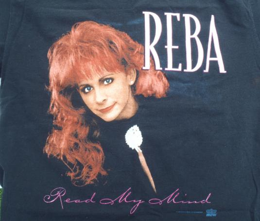 Vintage 1994 Reba McEntire Read My Mind Concert T-Shirt L