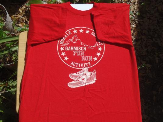 Vintage 1980s Garmisch Fun Run T-Shirt L