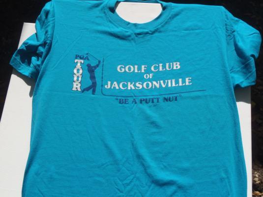 Vintage 1980s Jacksonville PGA Golf Club T-Shirt XL