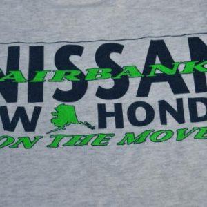 Vintage 1990s Fairbanks Nissan VW Honda T-Shirt M
