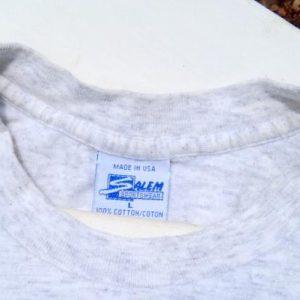 Vintage 1992 Gray NBA All Star Weekend Orlando T Shirt L