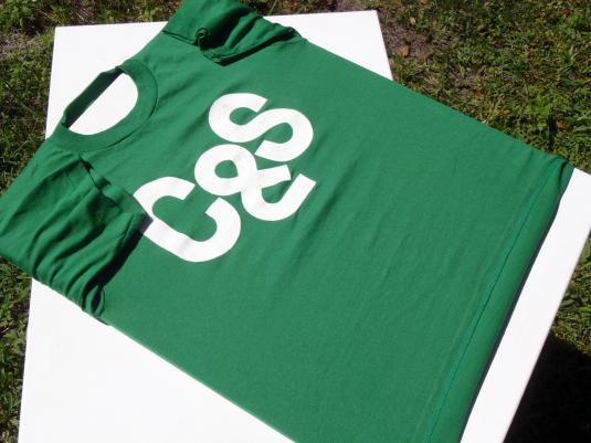 Vintage 1990s Citizens and Southern C&S Bank Green T-Shirt S