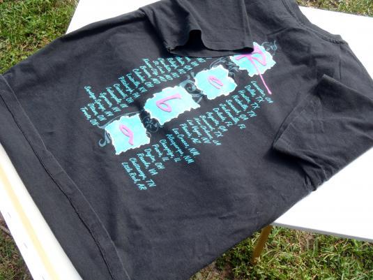 Vintage 1993 Reba McEntire Black Concert Tour T-Shirt L