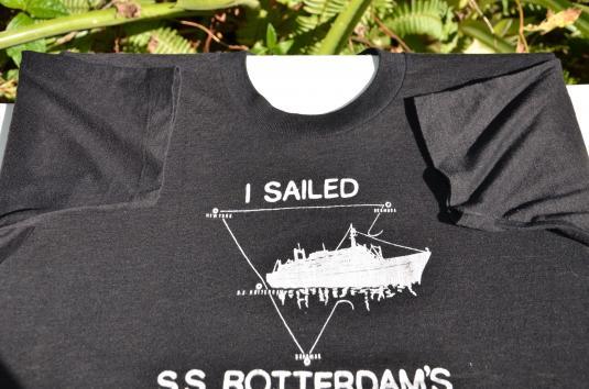 1970s SS Rotterdam Bermuda Triangle Vintage T-Shirt
