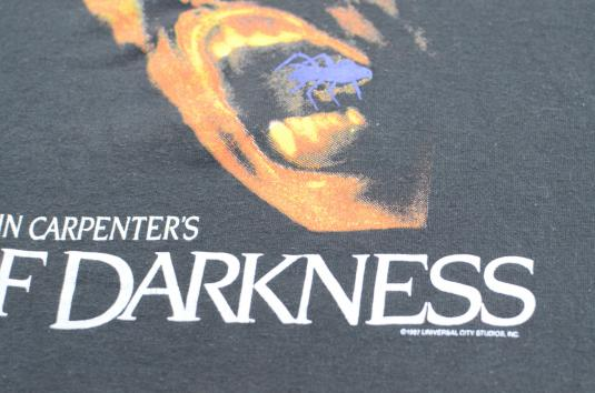 Vintage 1987 John Carpenter Prince of Darkness T Shirt M