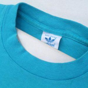 Vintage 1980s Light Blue Cotton Long Sleeved T Shirt L