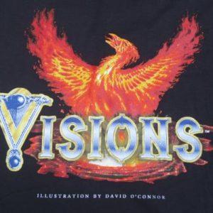 Vintage 1996 Magic: The Gathering Visions T-Shirt L/XL