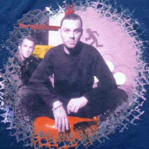 Vintage 1998 Savage Garden Tour Navy Blue Cotton T-Shirt L