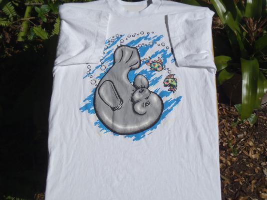 1980s/90s Manatee Vintage T Shirt M/L