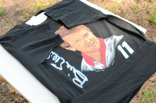 Vintage 1992 Bill Elliot NASCAR Racing Black T Shirt XL