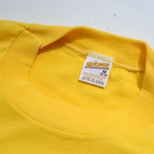 Vintage 1980s Loudonville Mohican River Yellow T-Shirt M/L